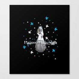 Halloween Is Nigh Canvas Print