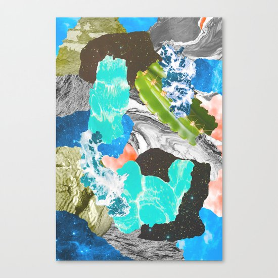 Layers of the Earth Canvas Print