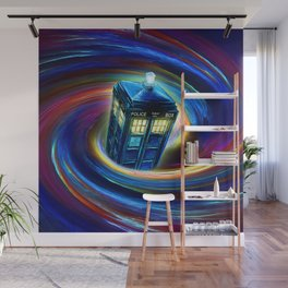 TIME VORTEX Wall Mural