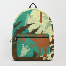 SPOOKY HOUSE Backpack