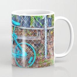 Turquoise Bicycle Coffee Mug