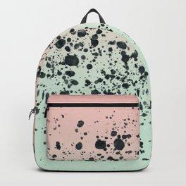 Mint, Blush, Back. Backpack