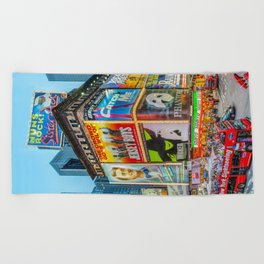 Times Square III Special Edition I Beach Towel
