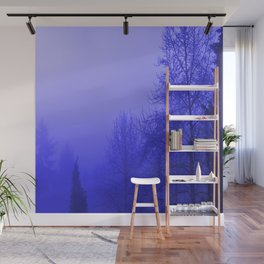 Into the Blue Wall Mural