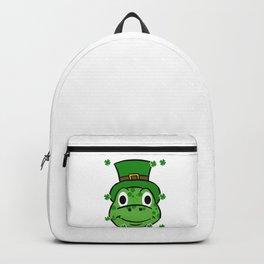 Leprechaun Turtle - St. Patricks Day Backpack
