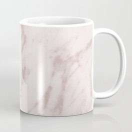 Real Rose Gold Marble Coffee Mug