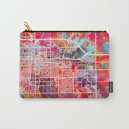 Urbana map Illinois IL 2 Carry-All Pouch