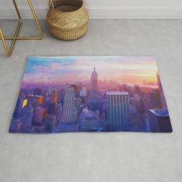 New York Panorama Rug
