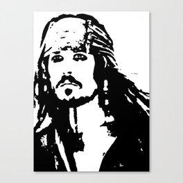 pirates caribbean sea Canvas Print