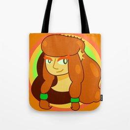 Horned Melon Girl Tote Bag