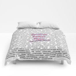 Positive Power Hour Comforters
