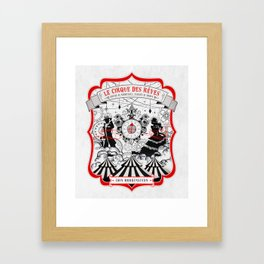 The Night Circus - light Framed Art Print