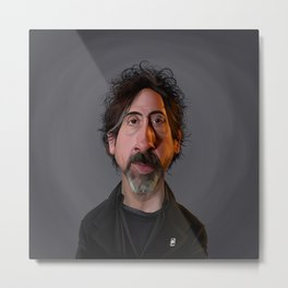 Celebrity Sunday - Tim Burton Metal Print