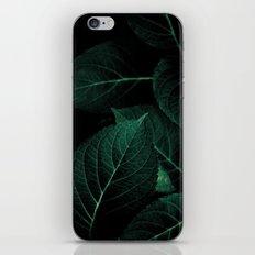 Dark Leaves I iPhone & iPod Skin