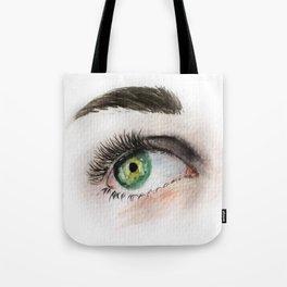Eye Study in Watercolor 1 Tote Bag