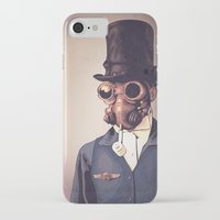 steampunk iPhone & iPod Cases featuring Steampunk by FalcaoLucas