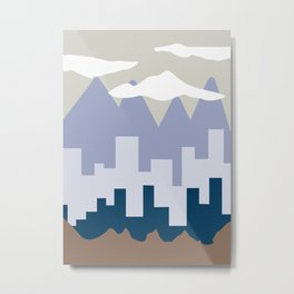 Abstract Landscape #6 Metal Print