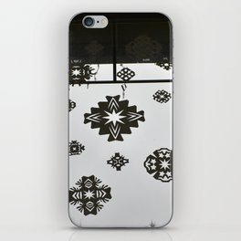 Homemade Snowflakes iPhone Skin