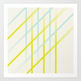 Diagonals Art Print