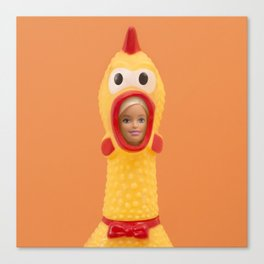 Funniest costume competition Canvas Print
