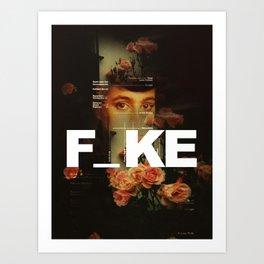 F_ke Art Print