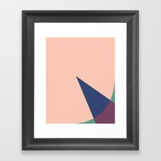 Cacho Shapes XLVI Framed Art Print
