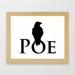 The Raven - Poe Framed Art Print