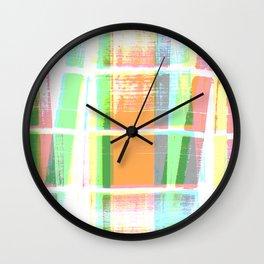 Kandy Kolored Wall Clock