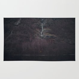 Purple forest Rug