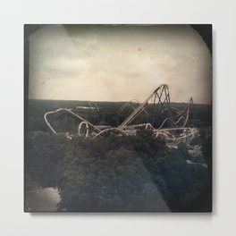 Up and Down Upside Down ! Metal Print
