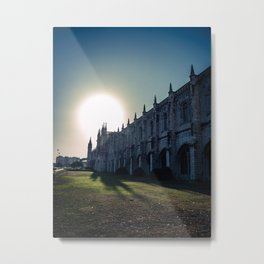 Jeronimos Monastery, Belem - Portugal Metal Print
