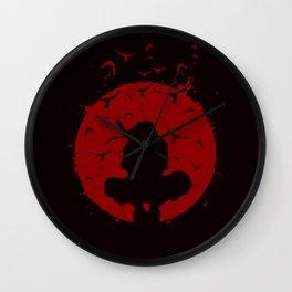 Ninja Silhouette Wall Clock