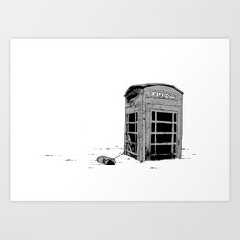 Call For Assistance Art Print