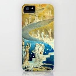 """William Blake """"Jacob's Ladder"""" or """"Jacob's Dream"""" iPhone Case"""