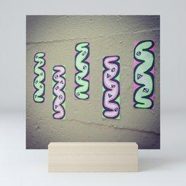5 Strips Mini Art Print