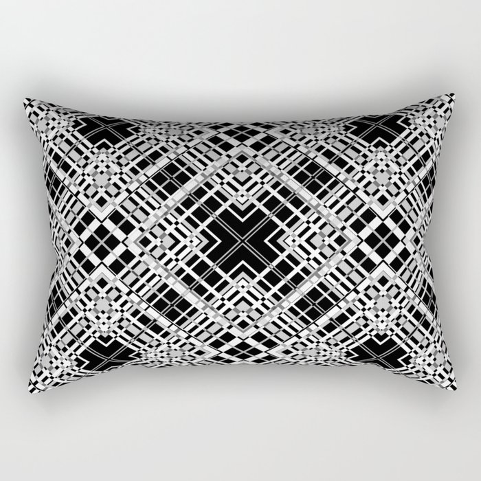 Geometric pattern. Elsa .1 Rectangular Pillow