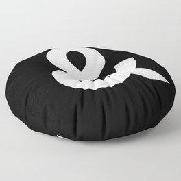 Black and White Ampersand Helvetica Typography Design Poster Home Decor Wall Art Scandinavian Decor Floor Pillow