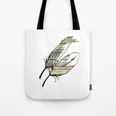 Tribal Feather Sunshine Tote Bag