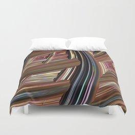 Striped Weave Duvet Cover