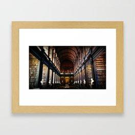 Bookworm's Dream Framed Art Print