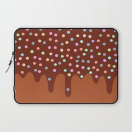 Dripping Melted chocolate Glaze with sprinkles Laptop Sleeve