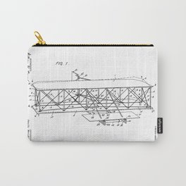 Wright Brothers Patent: Flying Machine Carry-All Pouch