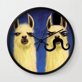Evil Twin Wall Clock