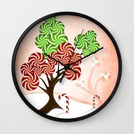 Magic Candy Tree - V1 Wall Clock