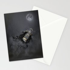 Overload the moon! Stationery Cards