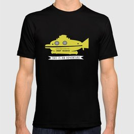The Life Aquatic with Steve Zissou This is an Adventure T-shirt