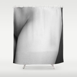 Hot light Shower Curtain