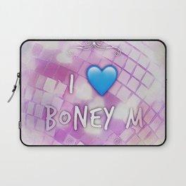 I Love Boney M Laptop Sleeve
