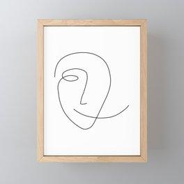 Different Smile Framed Mini Art Print