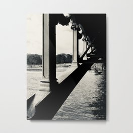 Under the Pont Alexandre Bridge Metal Print